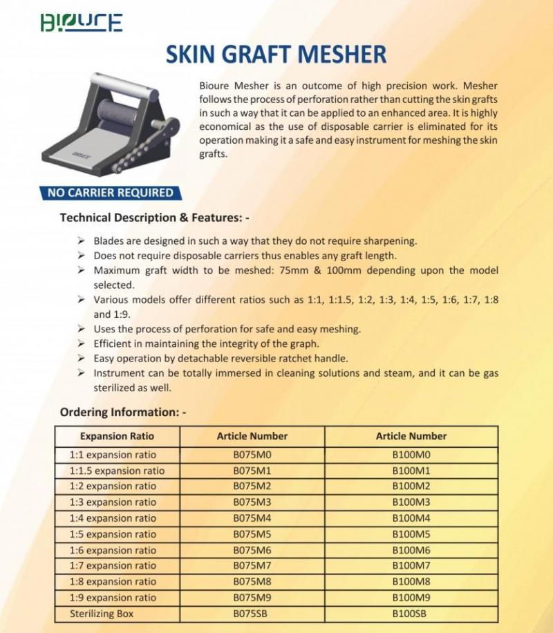 Skin Graft Mesher