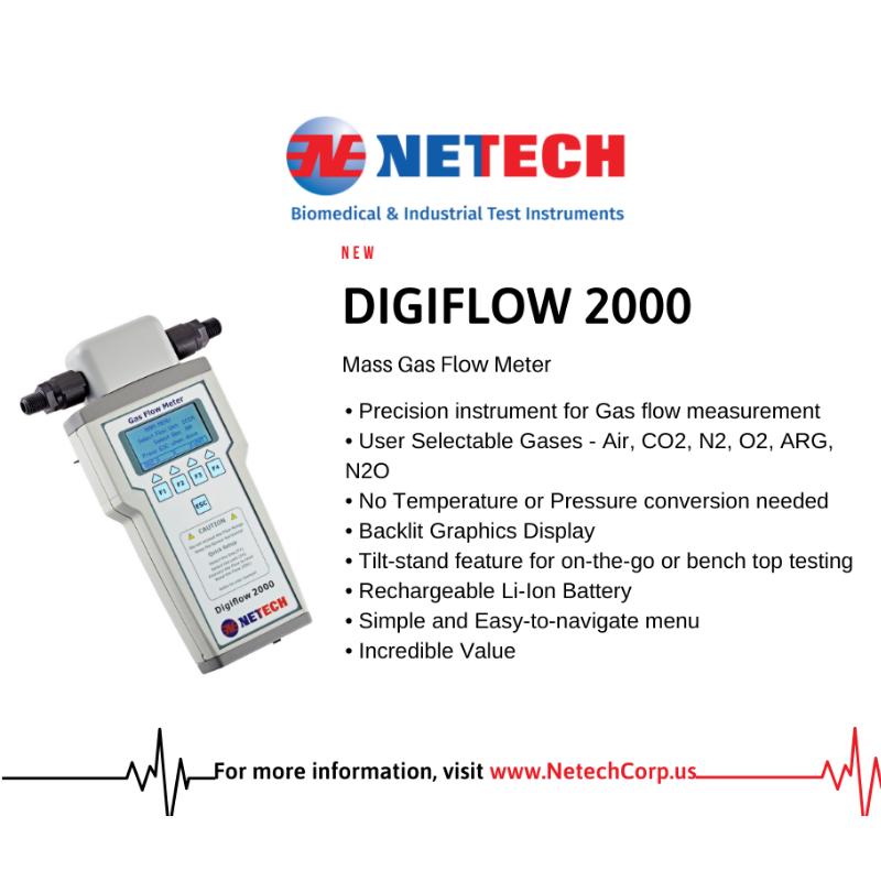 DigiFlow 2000 for gas flow measurements that matter
