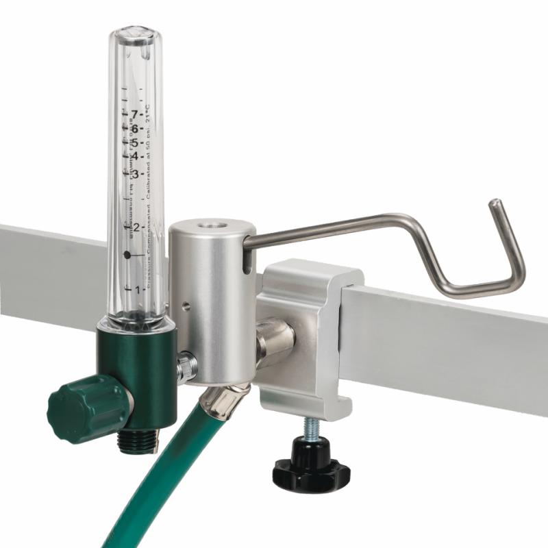 Oxygen Flowmeter with shut-off valve