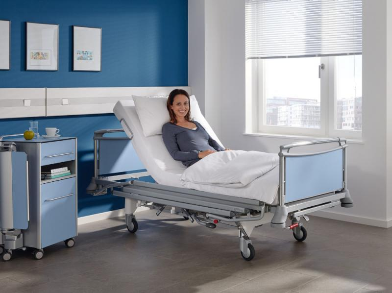 Deka hospital bed by Stiegelmeyer