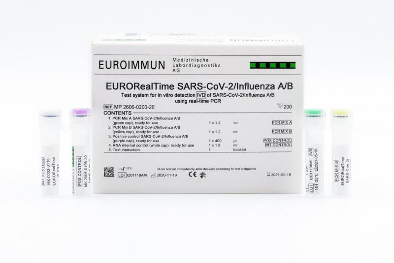 EURORealTime SARS-CoV-2/Influenza A/B