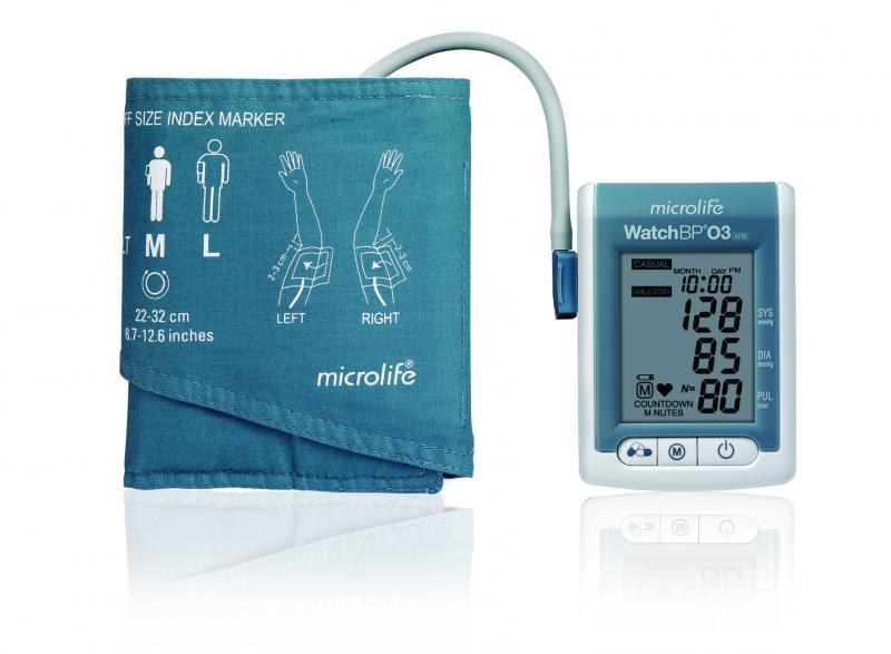 24-hour Blood Pressure Monitor - WatchBP 03 AFIB