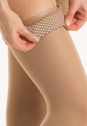detail of Relaxsan silicone dot lace