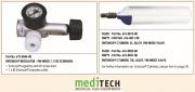 MEDITECH Entonox : Regulator and Cylinder