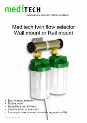 MEDITECH Twin Flow Selector