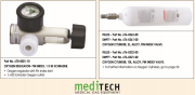 MEDITECH Oxygen Regulator and Cylinder