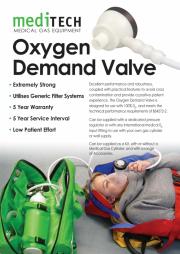MEDITECH Oxygen Demand Valve