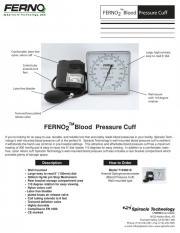 FERNO2 Sphygmomanometer (BP Cuff) Wall Mounted Clock Aneroid
