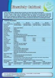 Laminar Air Flow - BioSafety Cabinet