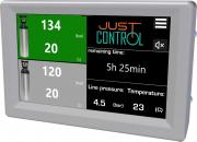 JUSTcontrol 1000, user interface