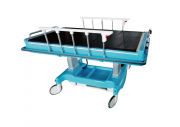 Patient Transfer Vehicle SE-A is a truly unique and revolutional product in the world for the interpretation of the safety for both of patients and hospital staffs.