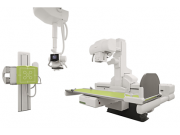 This remote controlled fluoroscopy system in combination with high-end digital radiography is designed for consistent, superb image quality and high room utilization, in a cost effective manner.