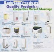 Designer Series® variety of elegant space saving automatic and manual wall mounted soap, shampoo, conditioner, and lotion dispensersbringing the elegance of a rich spa appearance for germ free avoiding the spreading of germs throughout the body and on to other.  Ideal products for bathrooms in homes, offices, hotels, restaurants, offices, hospitals, medical and dental clinics,schools and all other public establishments reducing the spread of germs that leads to illness and absenteeism.