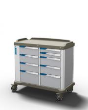 The PRESTO double - a multipurpose trolley for healthcare by Francehopital