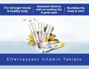 Vitamins in Effervescent Tablets form