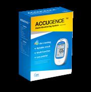 Accugence Multi-Monitoring System, Glucose, GOD,GDH,URIC ACID,BLOOD KETONE