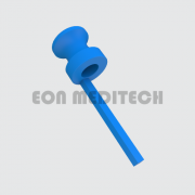 Shepard Blue with Tail - PTFE (Fluoroplastic Ventilation Tube, Grommet, Middle Ear Implant)