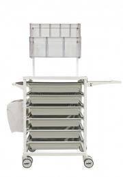 MODUL-iT Open Transport trolley with ABS trays