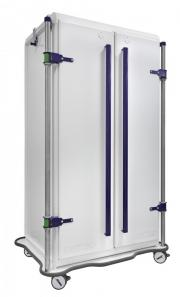 MODU-FLEX 2 section ISO modular transport trolleys with doors