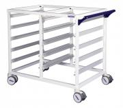 MODUL-iT Open nursing trolley with 2 sections