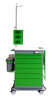MODU-FLEX modular nursing cart/trolley with telescopic drawers