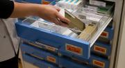 Drawer storage for pharmacy