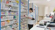 Rear Loading pharmacy shelving