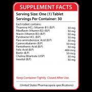Supplement Facts B-50 B Complex