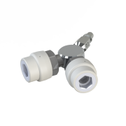 DIN Dual Y Outlet Adapter | DIN Outlet Duplicator