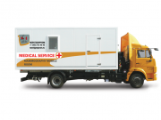 mobile mammography room, mammography on wheels