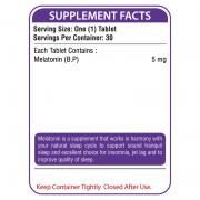 MELATONIX Supplement Facts