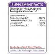 NUCALM Supplement Facts