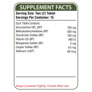 Nuflex Supplement Facts