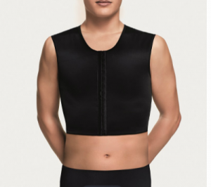 5007S · 5007S-2 | SHORT SLEEVESLESS VEST WITH FRONT OPENING