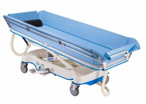 Hydraulic Stainless Steel Shower Trolley