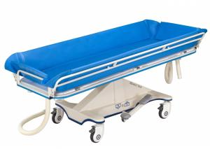 Stainless Steel Shower Trolley with pyramid appearance