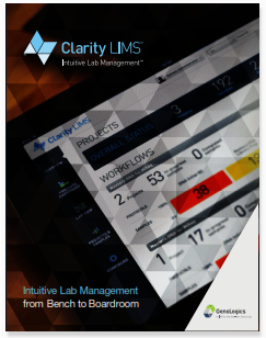 Clarity LIMS for genomics
