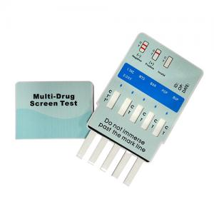 One Step Multi-Drug Urine Test Panel