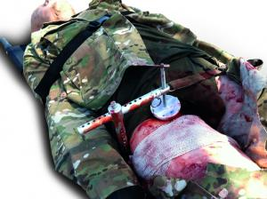 Tactical Casualty Care Simulator