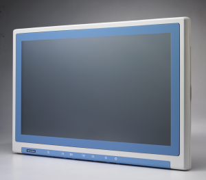 "Widescreen Point-of-Care Terminal with 21.5"" Wide TFT LCD"