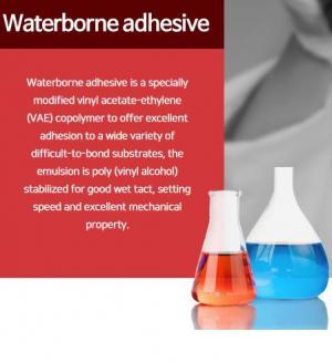 Waterborne adhesive