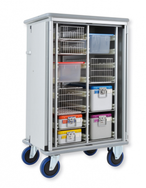 3162 CR cupboard truck for sterile containers