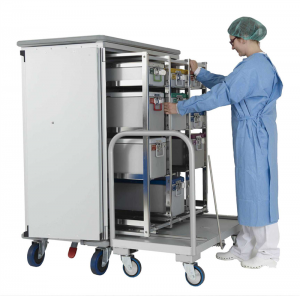 THE SHUTTLE SYSTEM for sterile goods