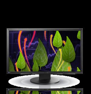 Eizo FlexScan EV2436WFS-BK (EV2436EFSBK) 24 Inch LCD LED Monitor
