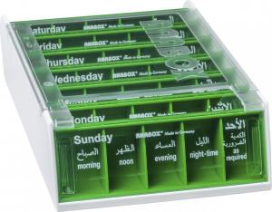 ANABOX® 7 Days LIGHT GREEN