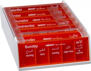 ANABOX® 7 Days ORANGE