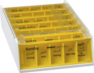 ANABOX® 7 Days YELLOW