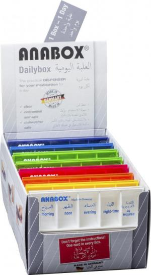 ANABOX� Daily Box ASSORTED COLORS