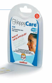 HappyCare ACNE Transparent Band-Aid for Acne