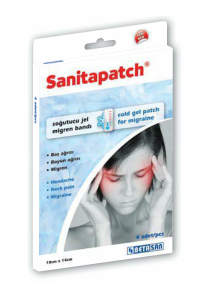 SANITAPATCH Cold Gel Patch for Migraine